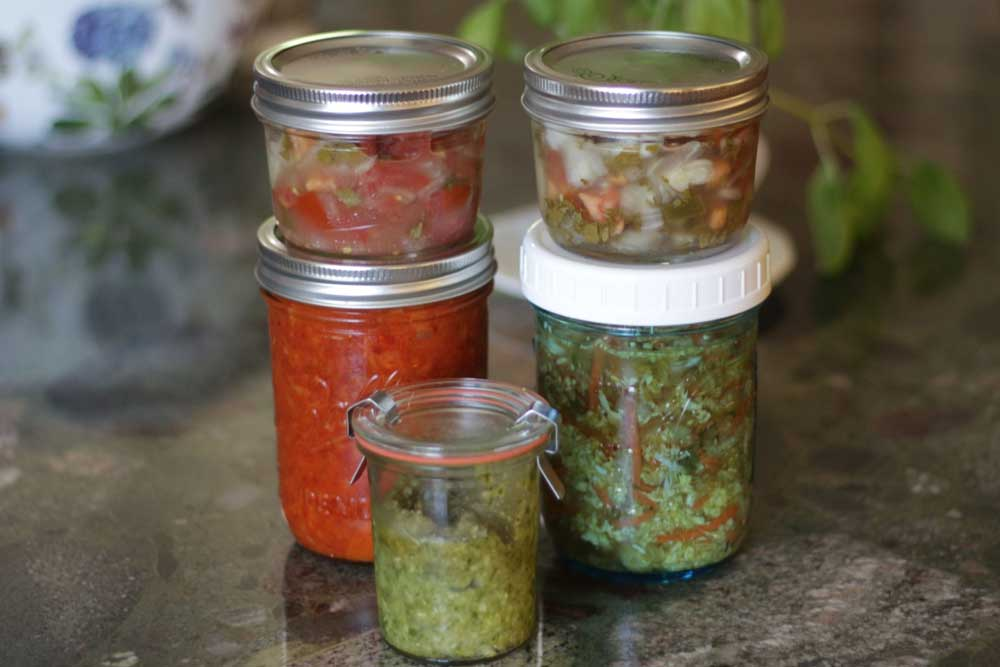 Prepara tus fermentados con suero de kéfir