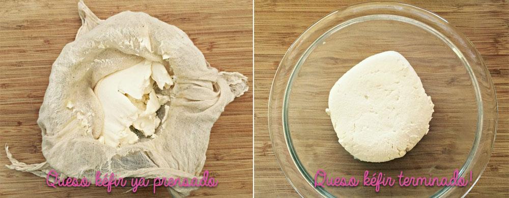 Receta de queso de kefir para hacer en casa