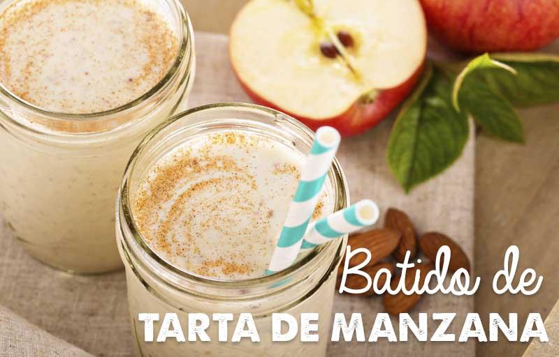Batido o Smoothie de Tarta de Manzanas y kefir