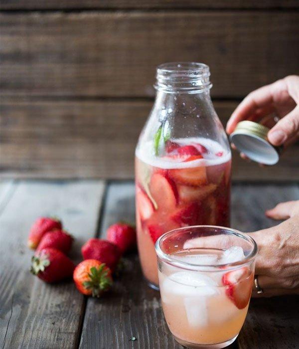 Cómo hacer kéfir de frutas