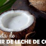 Receta: Kéfir de Leche de Coco