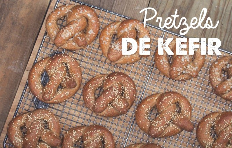 receta pretzels de kefir